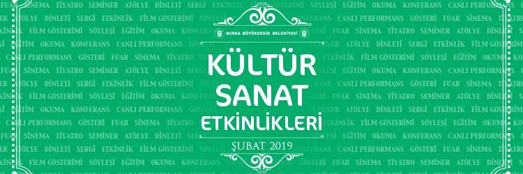 Subat 2019 etkinlik Banner